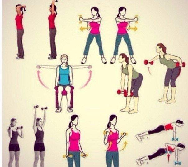 Какие Упражнения Чтобы Руки Похудели.