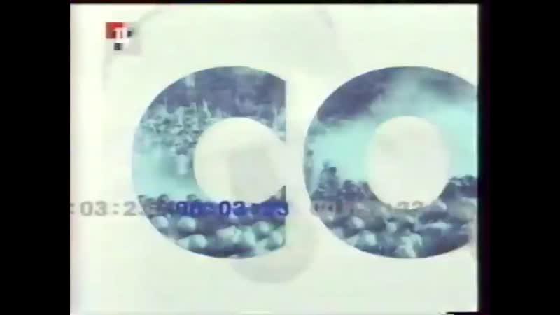 Заставки программы События Время московское ТВЦ 2001 2005
