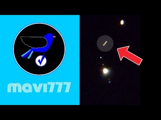 Huge UFO passing between Saturn and Jupiter