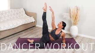 30 MIN DANCER WORKOUT    Full Body Pilates & Dancer Sculpt