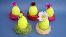 За 5 минут Пасхальный сюрприз из киндер яйца DIY