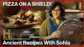 How to Cook Pizza on a Shield Like a 600 BC Persian Soldier | Ancient Recipes with Sohla
