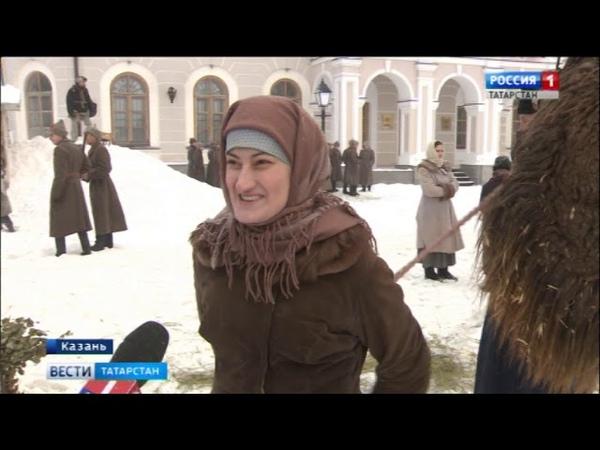 Погрузиться в в прошлое в центре Казани проходят съемки фильма Зулейха открывает глаза