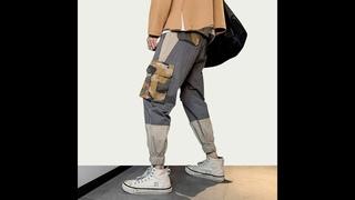 Мужские камуфляжные брюки карго iidossan, комбинезоны с карманами, уличные спортивные штаны в корейском стиле, брюки в стиле