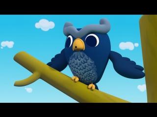 Мультфильм Мимимишки - О чем говорят птицы - Новая серия! Смешные мультики для детей