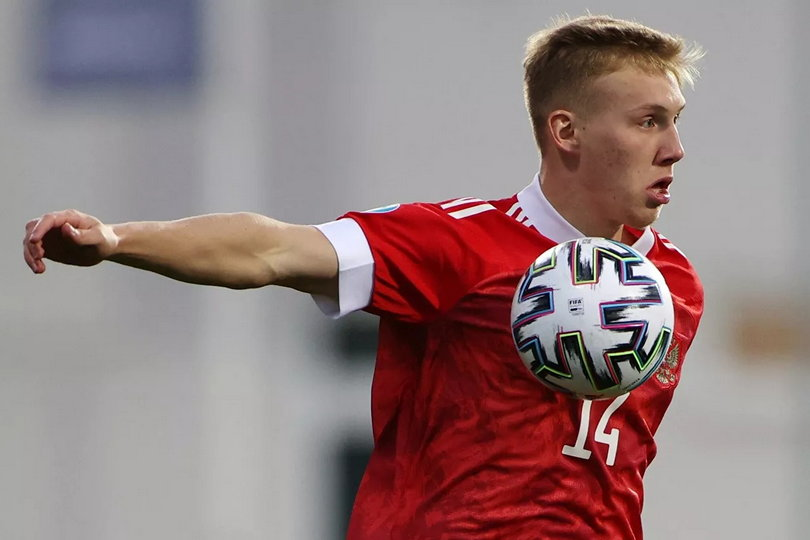Павел Маслов, сборная России