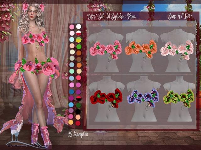 Одежда для фэнтези персонажей The Sims 4  со ссылками на скачивание,