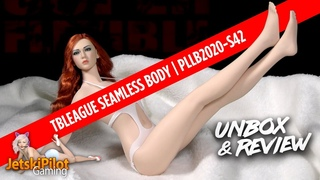 TBLeague One Sixth Scale Female Seamless Body (PLLB2020-S42 Pale)   Unbox & Review