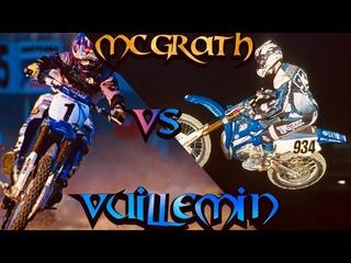 JEREMY MCGRATH VS DAVID VUILLEMIN - 2000 SUPERCROSS