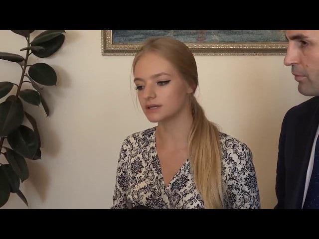 Дочь Пескова в платье от дочери Кадырова в бессвязном интервью пиарит судопроиз...