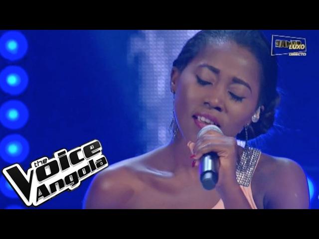 "Teresa Kiala arrebatadora com ""Zonga"" The Voice Angola 2015 Show ao Vivo 3"